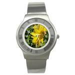 flowers_30 Stainless Steel Watch