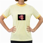 landat_01 Women s Fitted Ringer T-Shirt