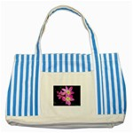 landat_01 Striped Blue Tote Bag