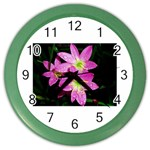 landat_01 Color Wall Clock