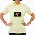 landat_02 Women s Fitted Ringer T-Shirt