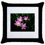 landat_02 Throw Pillow Case (Black)