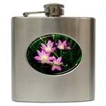 landat_02 Hip Flask (6 oz)