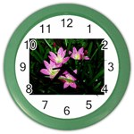 landat_02 Color Wall Clock