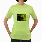 misc_68 Women s Green T-Shirt