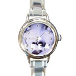 scream_5 Round Italian Charm Watch
