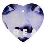 scream_5 Heart Ornament (Two Sides)