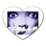 scream_5 Mousepad (Heart)