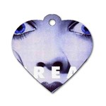 scream_5 Dog Tag Heart (One Side)