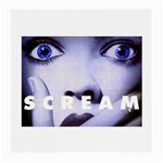 scream_5 Glasses Cloth (Medium, Two Sides)