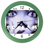 scream_5 Color Wall Clock