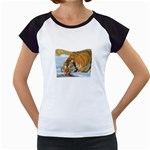 tiger_4 Women s Cap Sleeve T