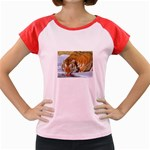 tiger_4 Women s Cap Sleeve T-Shirt