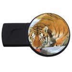 tiger_4 USB Flash Drive Round (1 GB)