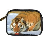 tiger_4 Digital Camera Leather Case