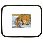 tiger_4 Netbook Case (XL)