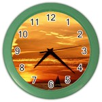 wallpaper_8597 Color Wall Clock
