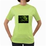 wallpaper_9813 Women s Green T-Shirt