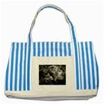 wallpaper_9813 Striped Blue Tote Bag