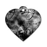 wallpaper_9813 Dog Tag Heart (Two Sides)