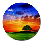wallpaper_10251 Round Mousepad