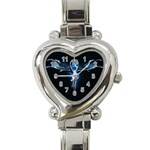 wallpaper_11150 Heart Italian Charm Watch