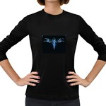 wallpaper_11150 Women s Long Sleeve Dark T-Shirt