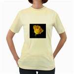 wallpaper_11217 Women s Yellow T-Shirt