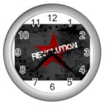 wallpaper_11805 Wall Clock (Silver)