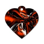 wallpaper_12280 Dog Tag Heart (One Side)