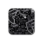 wallpaper_12647 Rubber Square Coaster (4 pack)