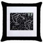 wallpaper_12647 Throw Pillow Case (Black)