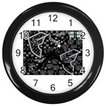 wallpaper_12647 Wall Clock (Black)