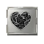 wallpaper_12647 Mega Link Heart Italian Charm (18mm)