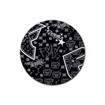 wallpaper_12647 Rubber Coaster (Round)