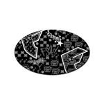 wallpaper_12647 Sticker Oval (100 pack)