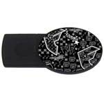 wallpaper_12647 USB Flash Drive Oval (2 GB)