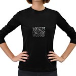 wallpaper_12647 Women s Long Sleeve Dark T-Shirt