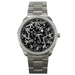 wallpaper_12647 Sport Metal Watch