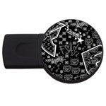 wallpaper_12647 USB Flash Drive Round (4 GB)