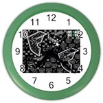 wallpaper_12647 Color Wall Clock