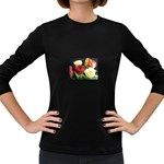 wallpaper_12974 Women s Long Sleeve Dark T-Shirt