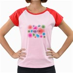 wallpaper_13078 Women s Cap Sleeve T-Shirt