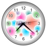 wallpaper_13078 Wall Clock (Silver)