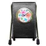 wallpaper_13078 Pen Holder Desk Clock