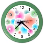 wallpaper_13078 Color Wall Clock