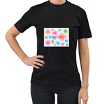 wallpaper_13078 Women s Black T-Shirt