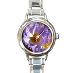 wallpaper_13855 Round Italian Charm Watch
