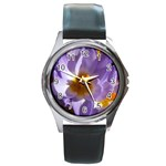 wallpaper_13855 Round Metal Watch