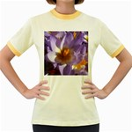 wallpaper_13855 Women s Fitted Ringer T-Shirt